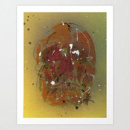 Skull #4 Art Print