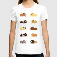pigs T-shirts featuring Guinea pigs by stephasocks