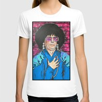 snl T-shirts featuring SNL Mike Meyers as Linda Richman by Portraits on the Periphery