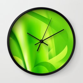Emerald Dreams Wall Clock