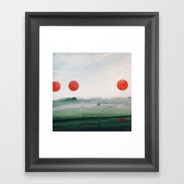 Painting on my photographs #1 Framed Art Print