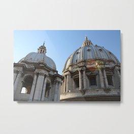 St. Peter's Basilica, Vatican City - Wild Veda Metal Print