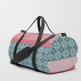 Japanese Style Quilt Duffle Bag