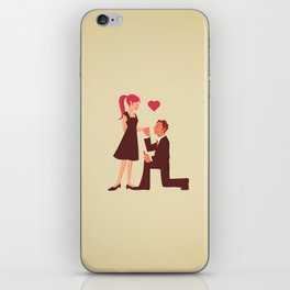 Marry Me My Princess iPhone Skin