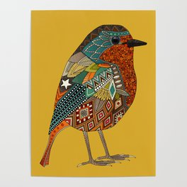 robin gold Poster