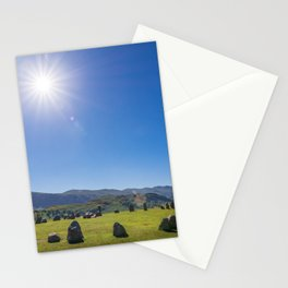Castlerigg Stone Circle in English Lake District Stationery Cards