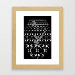 Jonsi - Sigur Ros - Pattern Framed Art Print
