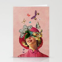 eugenia loli Stationery Cards featuring Chrysalis by Eugenia Loli