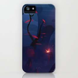 The small traveler iPhone Case