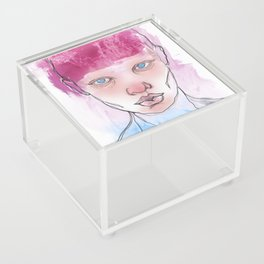 Untitled ( Study of a Woman ) Acrylic Box