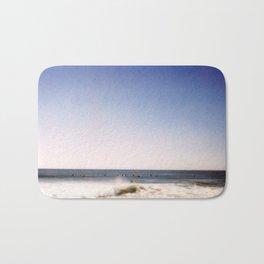 New York Summer at the Beach #2 Bath Mat
