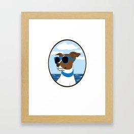 Cool Doggy Style Framed Art Print
