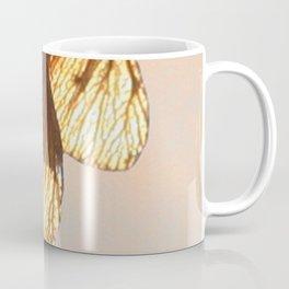 Cluster of lightened leaves Coffee Mug