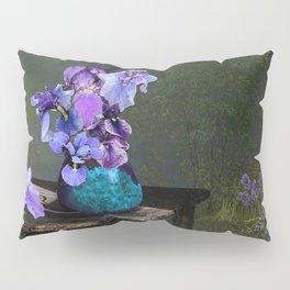 Morning Blues Pillow Sham