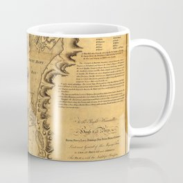 Map of Rhode Island 1777 Coffee Mug