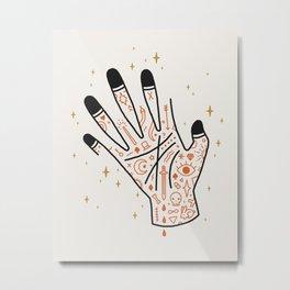 Sleight of Hand Metal Print