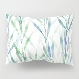 Watercolor Reeds Pillow Sham