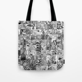 Doodling Together #5 Tote Bag