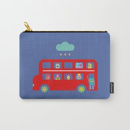 PINTMON_DOUBLE DECKER BUS  Carry-All Pouch