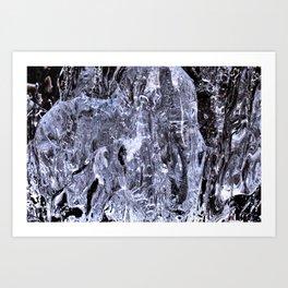 Between Ice 17 Art Print