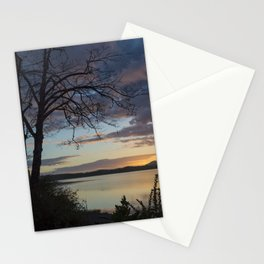 Lake Quinault Sunset, Washington Stationery Cards