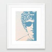 dylan Framed Art Prints featuring Dylan by Jeroen van de Ruit