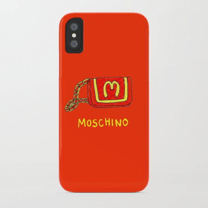 brand new 927e1 cfc88 MOSCHINO iPhone Case by dainsuh