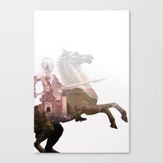 Defend the Castle Canvas Print