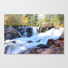 Autumn's Peacefulness Canvas Print