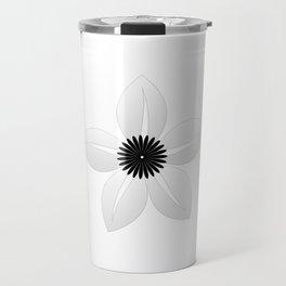 Cute Sheer Jasmin Flower Travel Mug