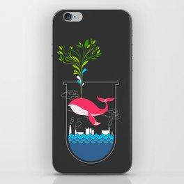 Nature Whale iPhone Skin