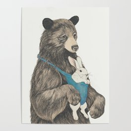 the bear au pair Poster