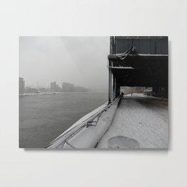Cold Desolation. Metal Print