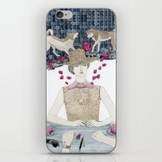 Lost and bewildered iPhone Skin