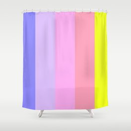 dont touch my highlighters Shower Curtain