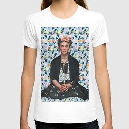 Flowers Frida Kahlo IV T-shirt