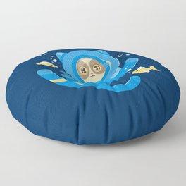 Purrfect Dive Floor Pillow