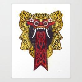 Barung Bali Art Print