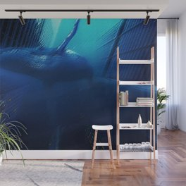 'Sea Change' Environmental Magical Realism 'Save our Oceans' Portrait Wall Mural