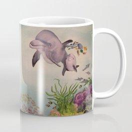 Journey Under the Sea by Maureen Donovan Coffee Mug
