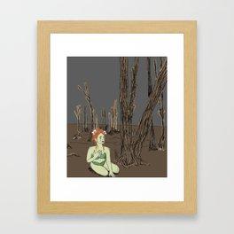 Poisoned Ivy Framed Art Print