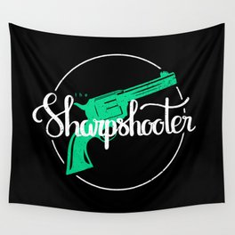The Sharpshooter Wall Tapestry