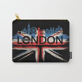 London Pride_Black Carry-All Pouch