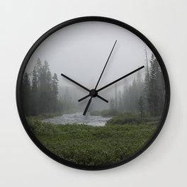Yellowstone River Wall Clock