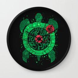 Turtle BPM Wall Clock
