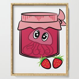 Cute and attractive tee design made perfectly for jam lovers like you!  Serving Tray