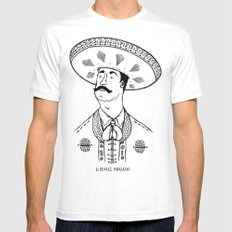 Liberace Mariachi White MEDIUM Mens Fitted Tee