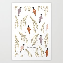Kinosaki Girls Art Print