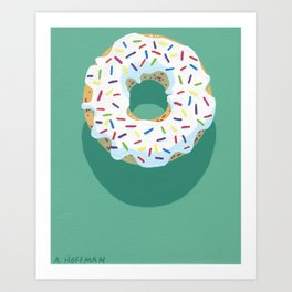 A Chance of Sprinkles Art Print