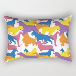 Dog Pattern 2 Rectangular Pillow